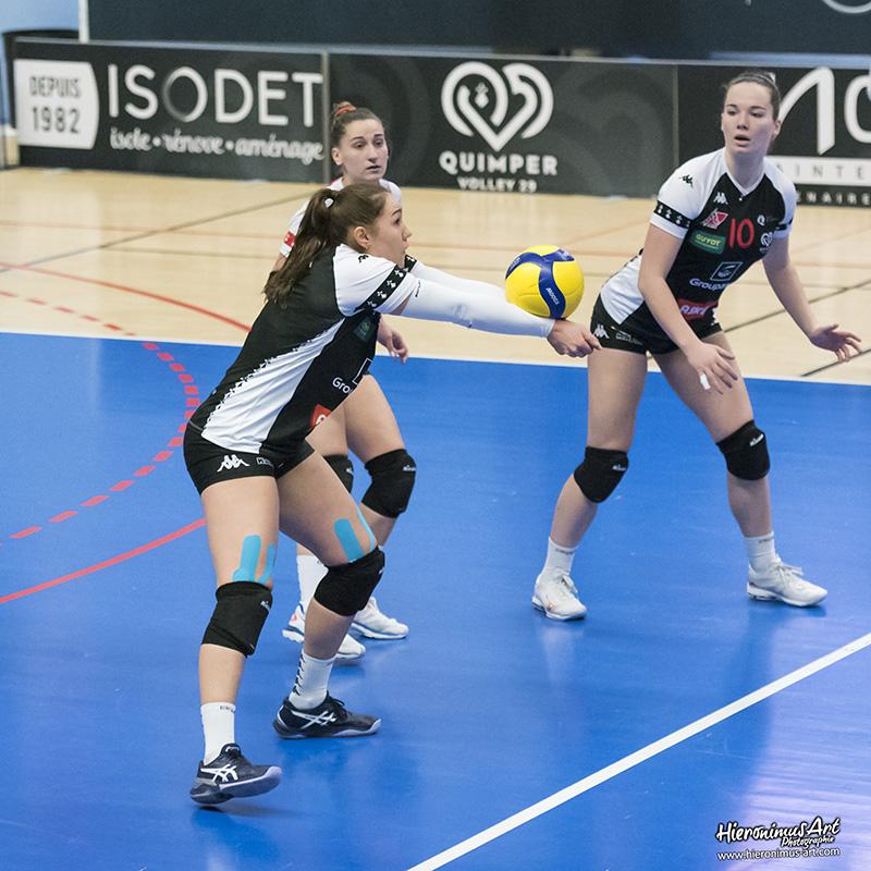 136-QuimperVolley29 - Volley-Ball Halluin