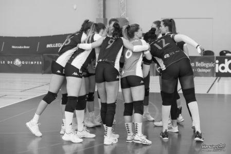 184-Quimper Volley 0 - 3 Evreux Volley Ball