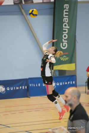 19-Quimper Volley 0 - 3 Evreux Volley Ball