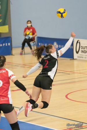 34-Quimper Volley 0 - 3 Evreux Volley Ball