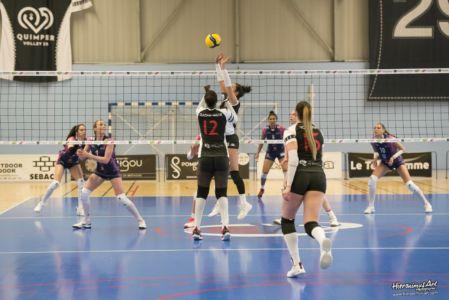 39-Quimper Volley 0 - 3 Evreux Volley Ball