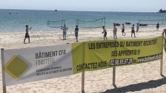 Tournoi de Beach Volley avec notre partenaire le CFA BTP