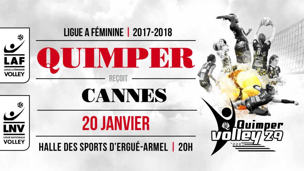 QV29 – RC Cannes samedi à 20H