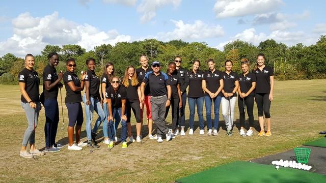 Rentrée des joueuses : Initiation au golf de l'Odet