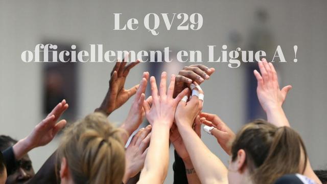 Le QV29 officiellement maintenu en Ligue A !!!