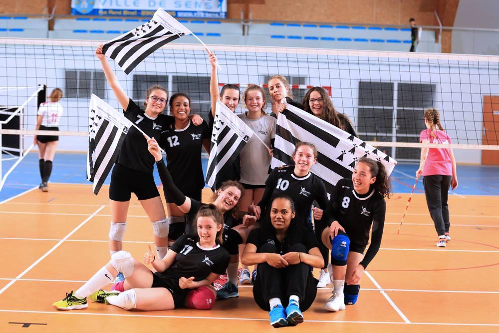 Le Quimper Volley 29 en finale de Coupe de France