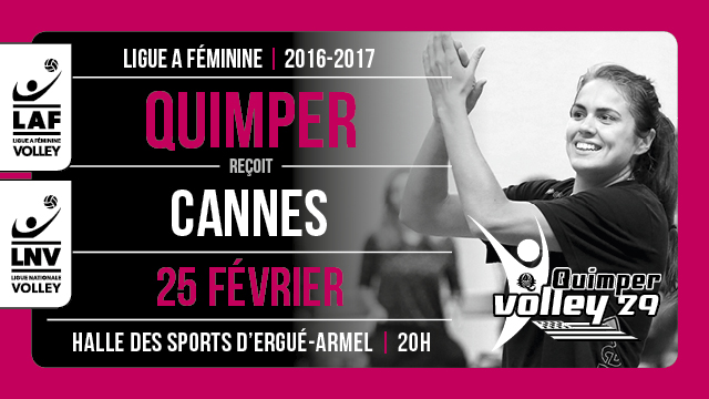 QV29 – RC Cannes samedi à 20H00