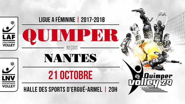 QV29 – Nantes samedi à 20h00