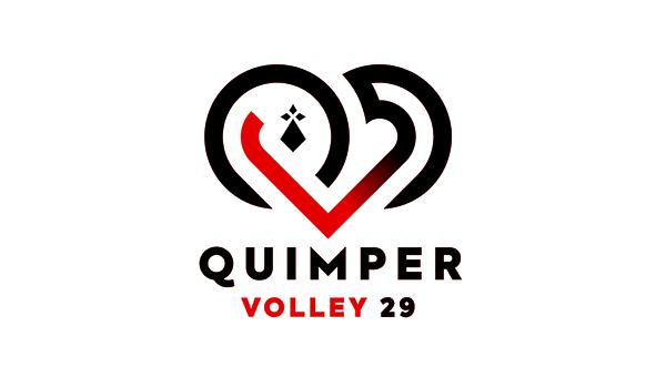 Le Quimper Volley 29 fait évoluer son logo