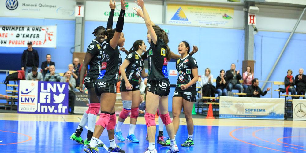 Déplacement match Nantes-Quimper Volley 29