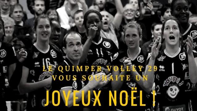 Le Quimper Volley 29 vous souhaite un Joyeux Noël !