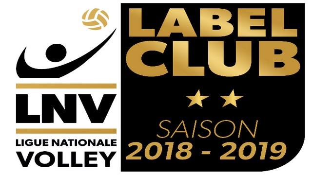Obtention du Label LNV 2018 -2019 !