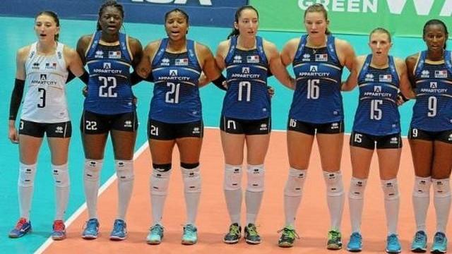 Ligue européenne : 4 victoires pour l'équipe de France