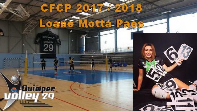 Recrues CFCP 2017-2018 Loane Motta Paes, Passeuse