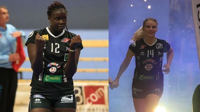 Marième et Pavla, les deux centrales repartent pour une saison !