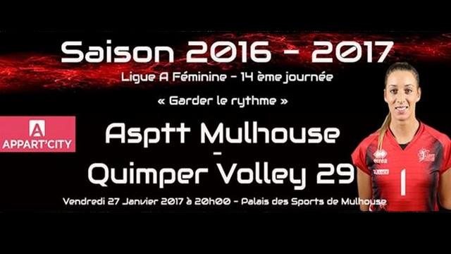 ASPTT Mulhouse – QV29 ce soir à 20H00