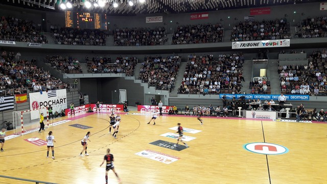 Le QV29 à l'Arena de Brest