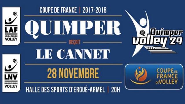 Coupe de France : QV29 – Le Cannet ce soir à 20H