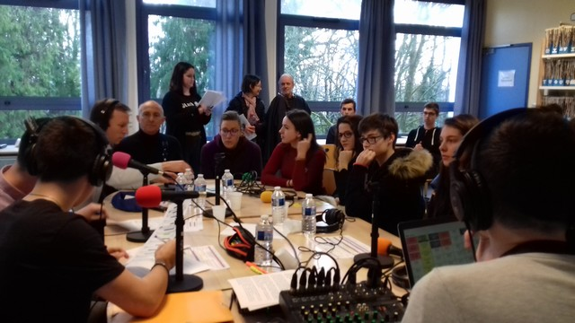 Journée mondiale de la radio : Les volleyeuses sur Radio Lycorn