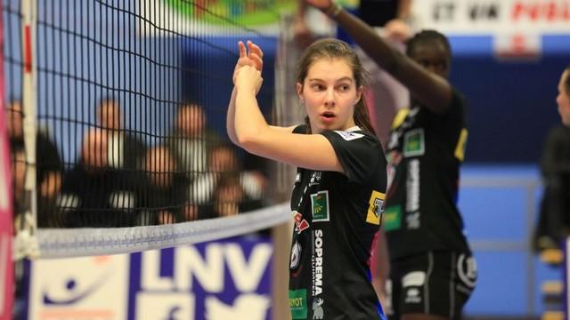 Marie Nevot en Équipe de France de Beach-Volley