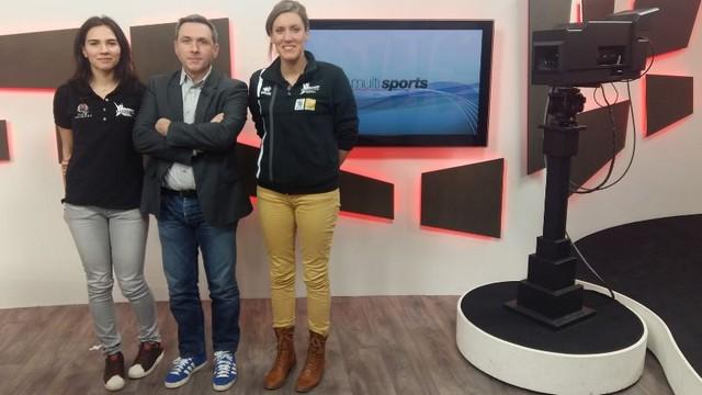 Ioana et Lauriane invitées du Multisports à 19H15
