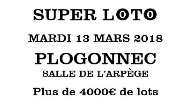 Super Loto du QV29 mardi 13 mars