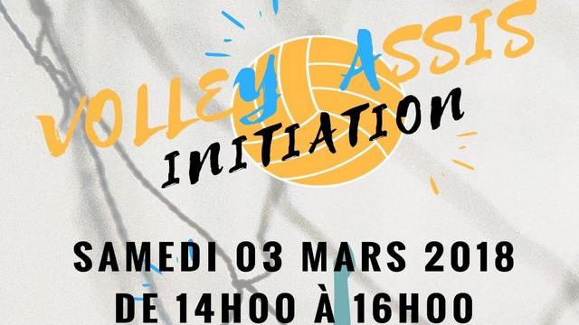 Initiez-vous au Volley Assis le samedi 3 mars 2018