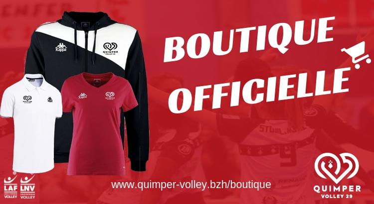 La Boutique officielle du Quimper Volley 29
