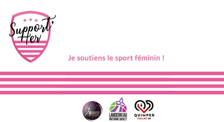 Support'Her, l'initiative bretonne pour le sport féminin !