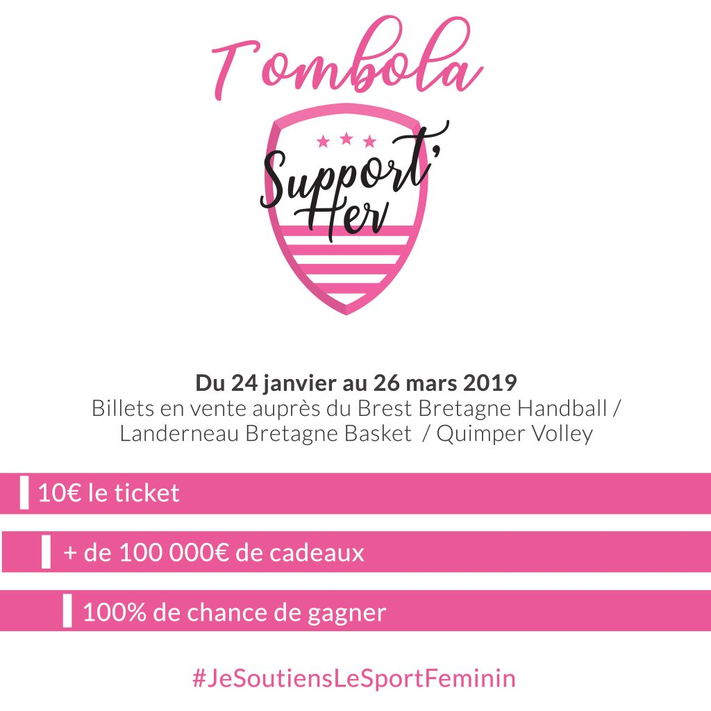 GRANDE TOMBOLA SUPPORT'HER – 100 % GAGNANTE :  PLUS QUE QUELQUES JOURS POUR Y PARTICIPER !