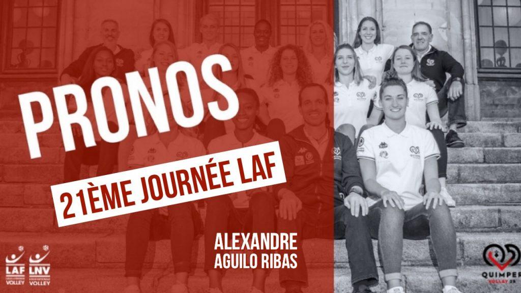 Les pronos d'Alexandre Aguilo Ribas