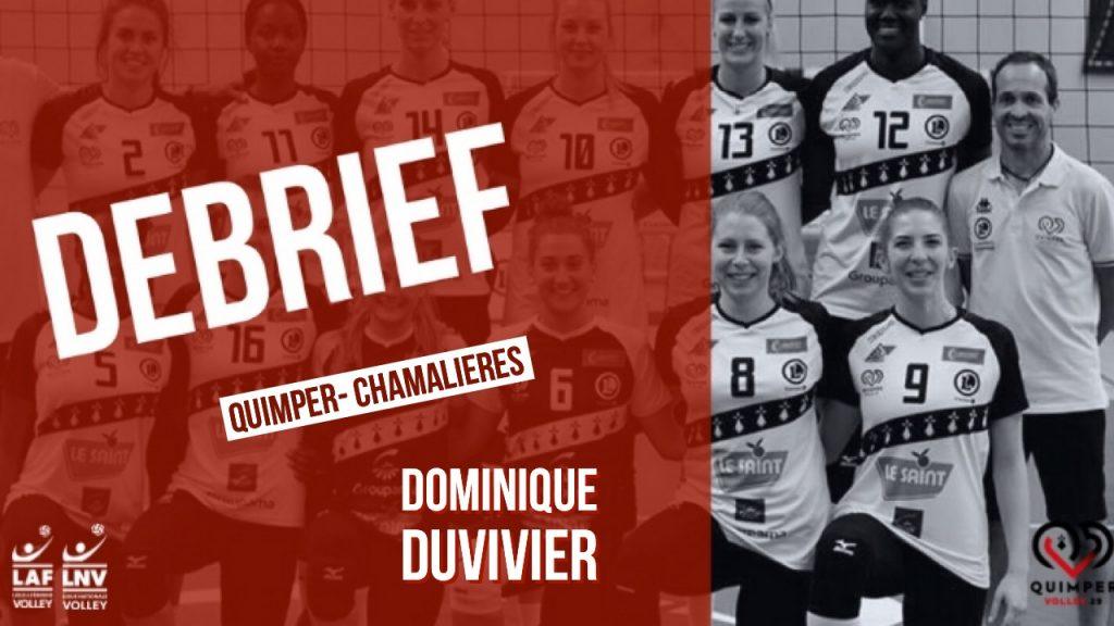 Le Débrief QV29- CHAMALIERES