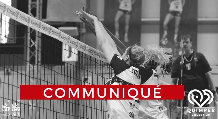 Communication officielle – Quimper Volley 29
