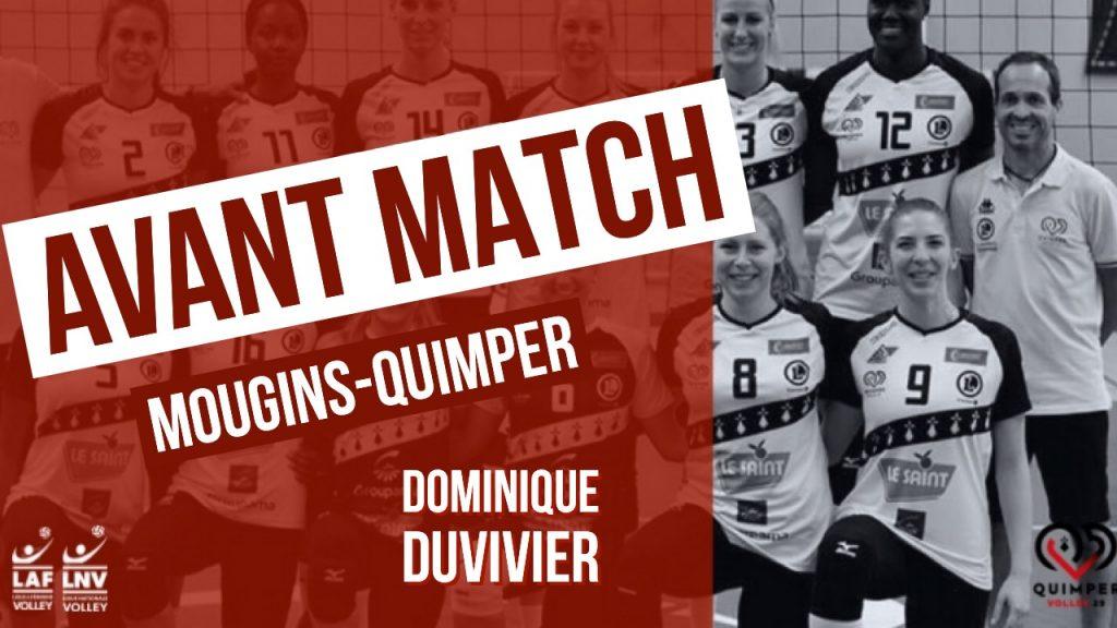 Avant-match MOUGINS – QUIMPER VOLLEY 29