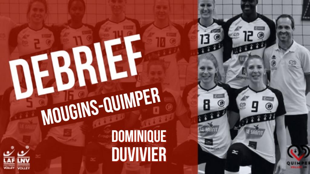 Le Debrief Mougins – Quimper Volley 29