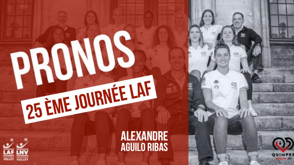 Les pronos d'Alexandre Aguilo Ribas !