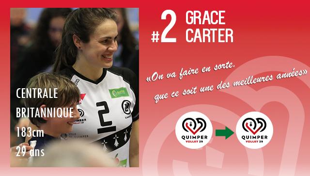 [MERCATO] Grace CARTER prolonge au club