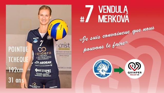 [MERCATO] Vendula MERKOVÁ intègre le Quimper Volley 29 !