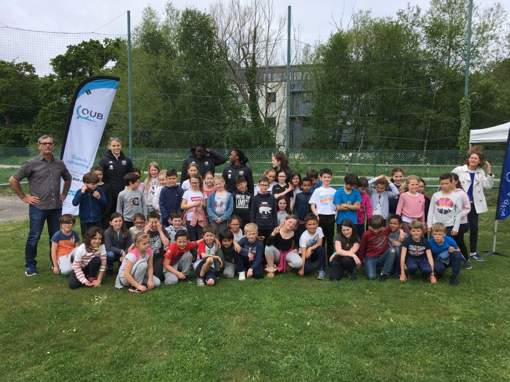 Volley Dans La Ville : 400 élèves accueillis à Creac'h Gwen