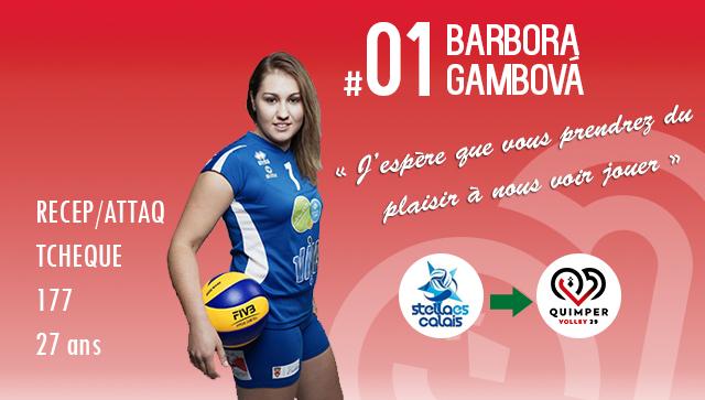 [MERCATO] Barbora GAMBOVA rejoint ses deux compatriotes Tchèques!