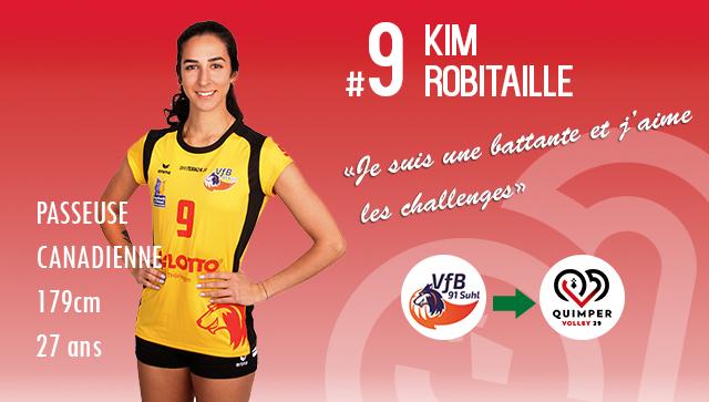 [MERCATO] Kim ROBITAILLE intègre le Quimper Volley 29 !