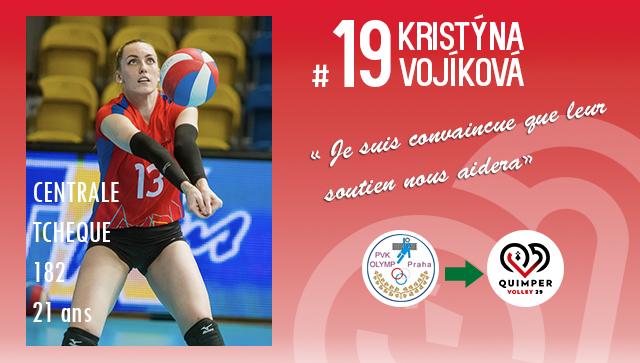 [MERCATO] Kristyna VOJIKOVA intègre le CFCP du Quimper Volley 29 !