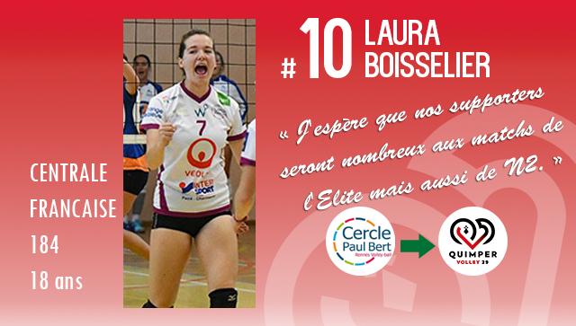 Laura BOISSELIER intègre le CFCP