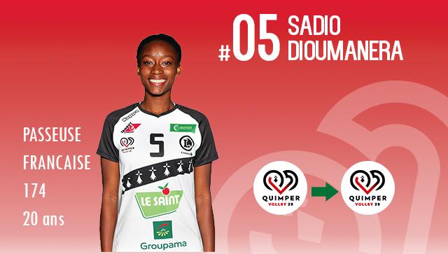 [MERCATO] Sadio DIOUMANERA effectuera une 4ème saison au club !