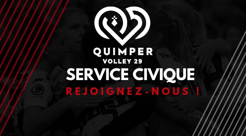 Le Quimper Volley recherche un volontaire pour une mission en service civique