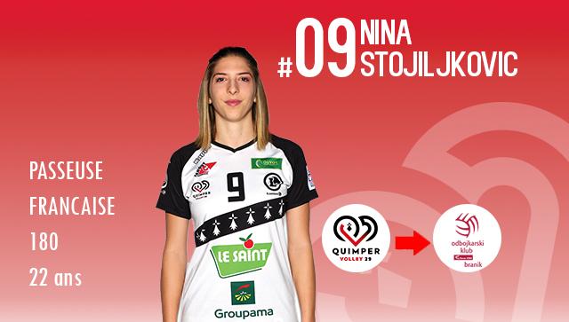 [MERCATO] Nina STOJILJKOVIC rejoint la Slovénie