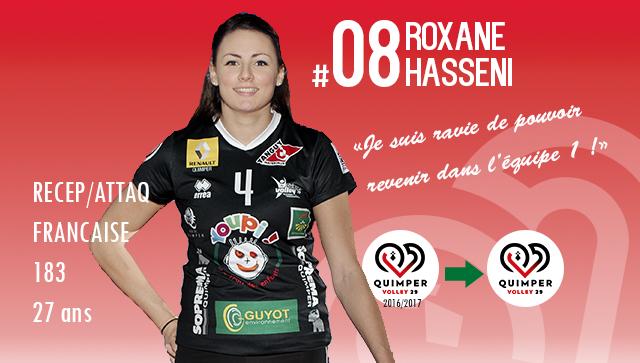 Roxane HASSENI de retour en équipe première !