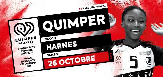 Journée 3 : Quimper Volley 29 reçoit Volley Club Harnes