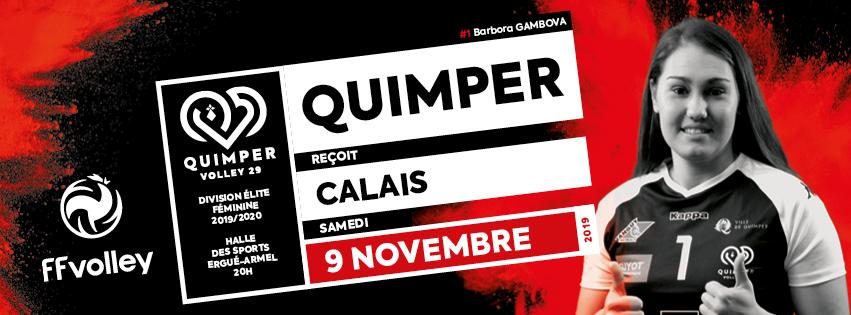5ème journée de championnat : Quimper reçoit Calais