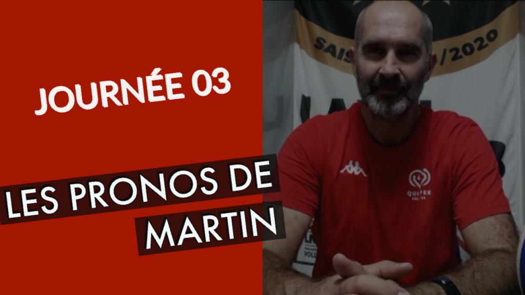 [LES PRONOS] Les pronostics de Martin pour cette 3ème journée !